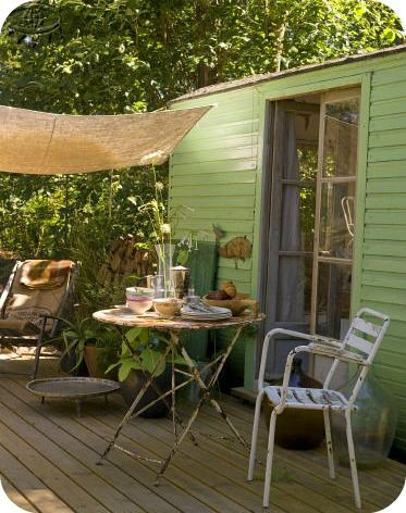 Back Porch Let 39 S Get An Old Mobile Home And Some