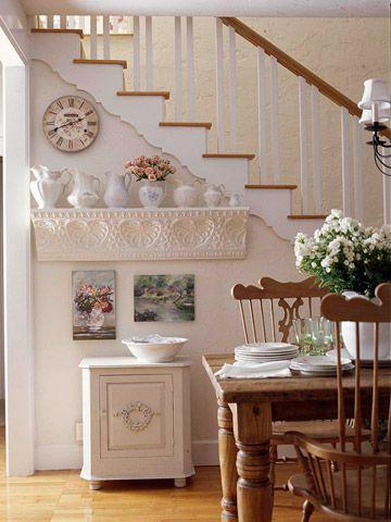 shelf from decorative molding