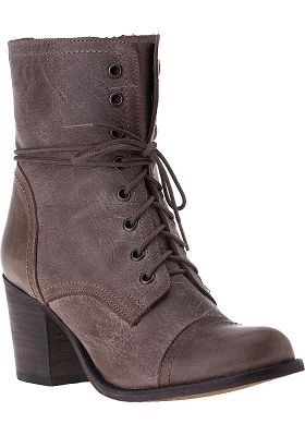 Steve Madden Shoes - Graanie Boot Stone Leather