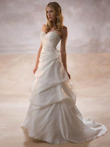 Wedding dress designs and dress wedding on pinterest for Petite wedding dresses online
