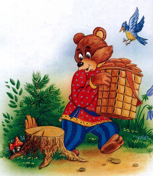 Masha I Medved Russkaya Narodnaya Skazka Chitat Onlajn V 2021 G Skazki Narodnaya Skazka Medved