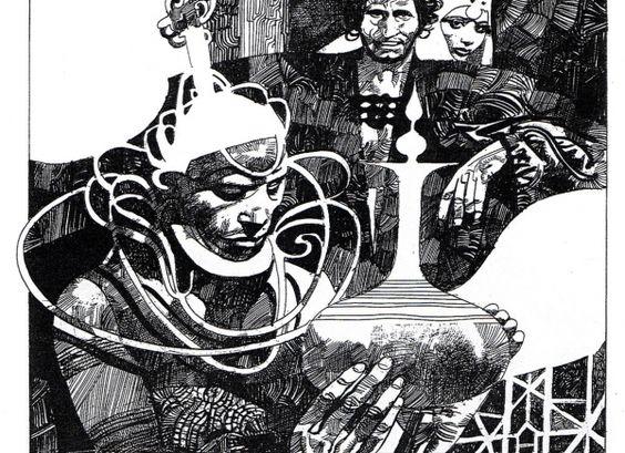 Aleix Gordo Hostau - Ilustración, street art, cómic, pintura, cine...: Sergio Toppi - Un Maestro de la Tinta
