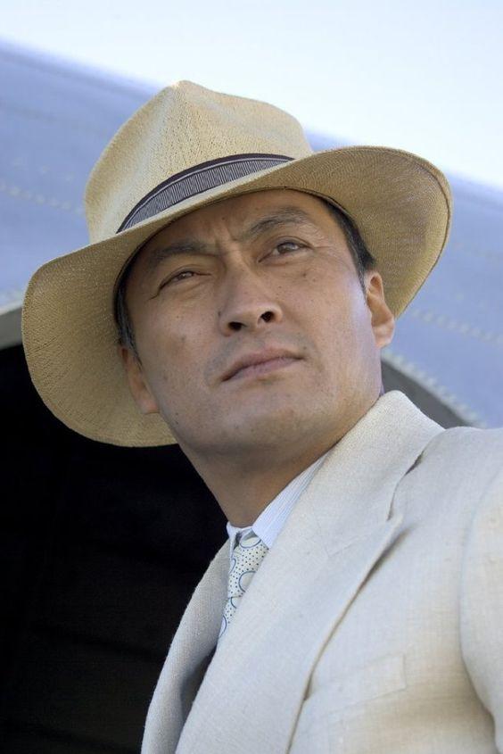Ken Watanabe - Ken, you tall, dark, handsome Japanese guy!  Nobody can wear a Panama hat the way you do! Sigh.....RW