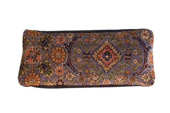 Purple Rug Lumbar Pillow