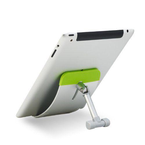 "Tablet Mate 701 Faltbarer Aluminium Ständer Schreibtischhalter für iPad, iPad 2, New iPad, iPad mini, Nexus, Samsung Galaxy Tab / Note, HTC Flyer, 7""-10"" Tablet PC, 7""-10"" Touch Pad - GRÜN | Tablet PC Halterung"