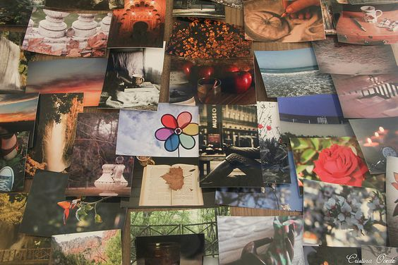 Viejas costumbres: fotos en papel