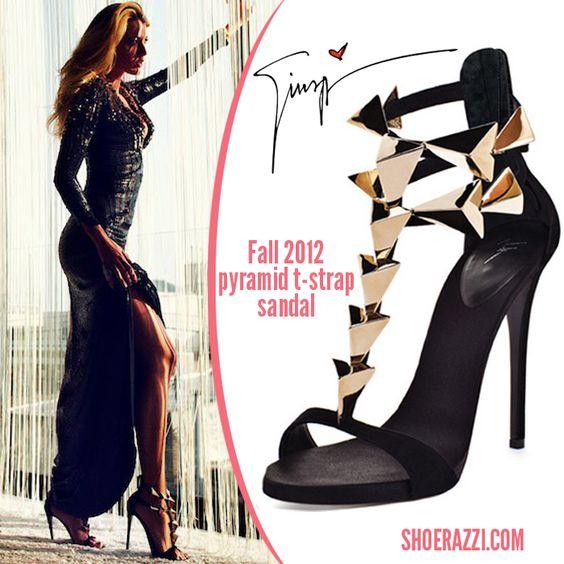 Giuseppe zanotti Pyramid T-strap sandals <3 <3