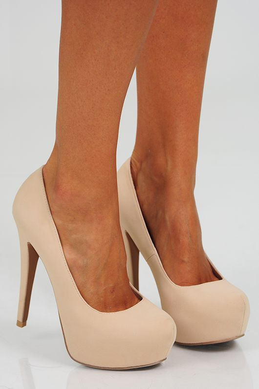 Step Up Your Game Heels: Cream ❤Nude pumps are amazing!! I have