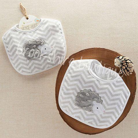 Hedgehog Bib from Baby Aspen – Brookshire Boutique