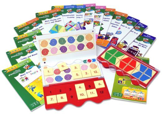 MiniLUK Brain Challenger Complete Set. Includes MiniLUK Starter Pack (controller, My First MiniLUK workbook, parent teach erguide, skills chart) and complete Brain series of 14 workbooks. $89.95