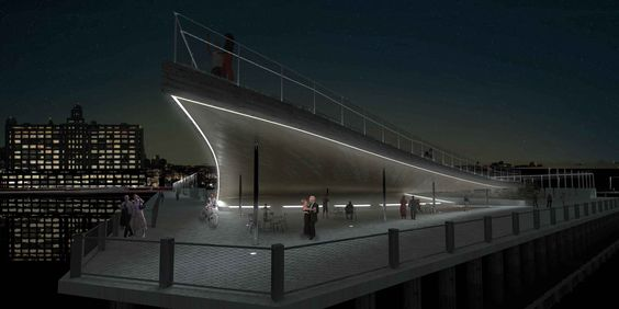 BIG transforms brooklyn bridge park's pier 6