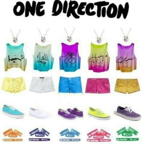 One Direction outfits