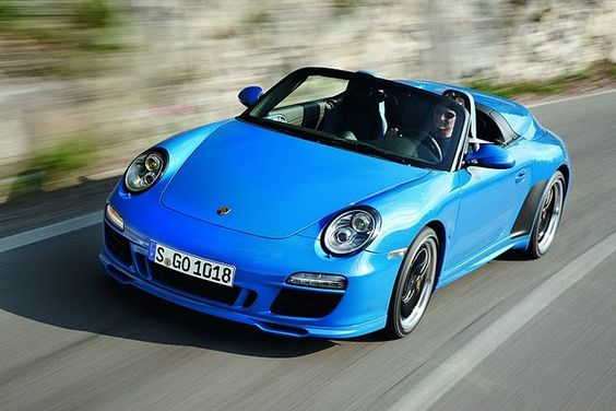 porsches, how did they know blue works for me?