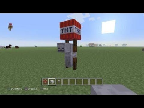 How To Make A Tnt Yeeter Minecraft Skeleton T N T Minecraft