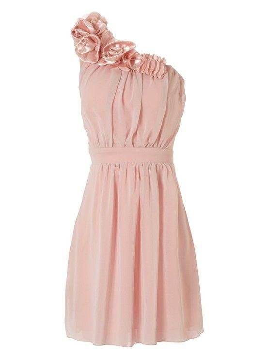 Dress in dusty rose