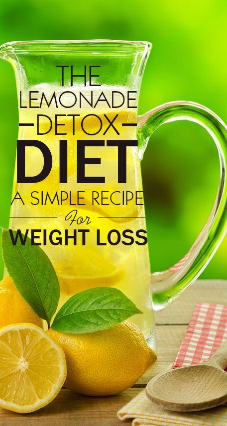 Lemonade Diet Rapid Weight Loss And Lemonade On Pinterest