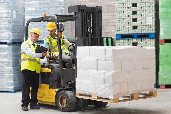 Giải pháp an toàn cho hàng hóa cảng - xe nâng Goodsense