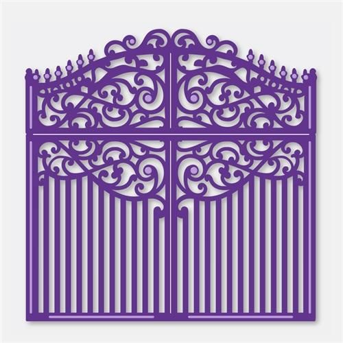 Couture Creations Dies Intricutz Metricon - Gate to Eden FREE SHIPPING: