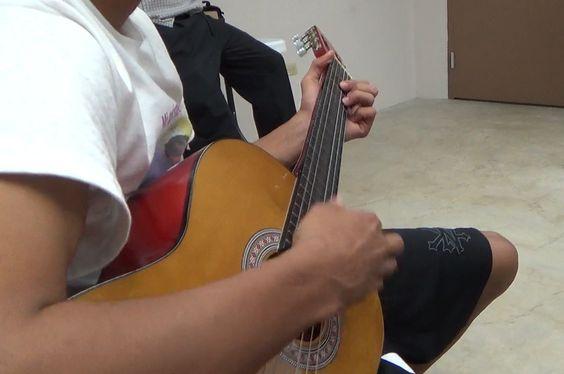 Clase de música.