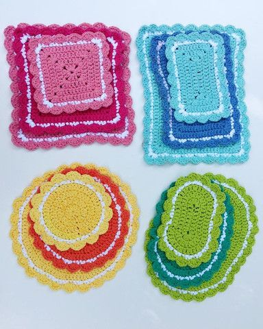 Crochet Patterns Hot Pads : ... Hot Pad Crochet Patterns Hot pads, Pictures of and Crochet hot pads