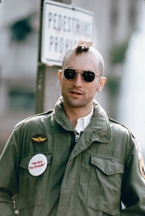 Robert De Niro alias Travis Bickle  Taxi Driver