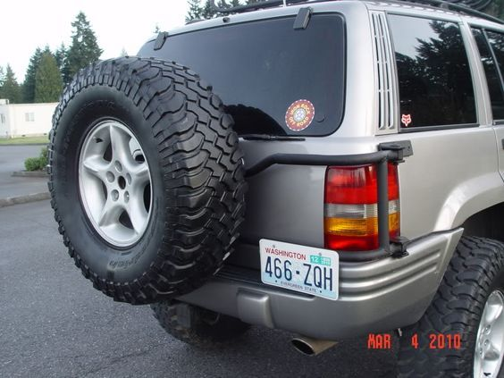 Wj Spare Tire Mount Google Search Jeep Zj Jeep Wj Jeep Xj