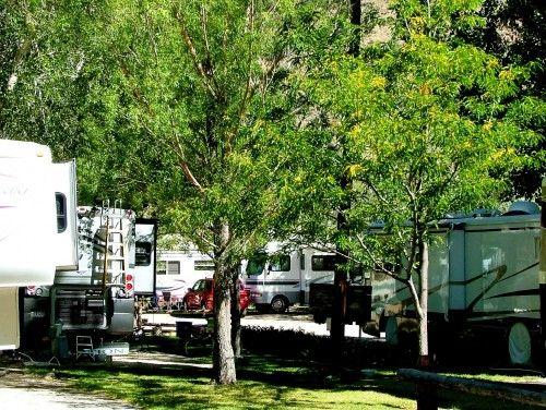 Four Seasons RV Park Salida Colorado Located On The Arkansas River