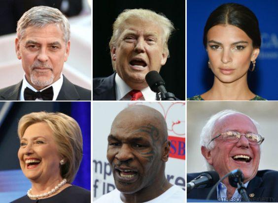 ¿De qué pie (político) cojean las celebrities de Hollywood?