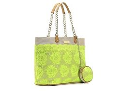 Betsey Johnson Lace Over Tote