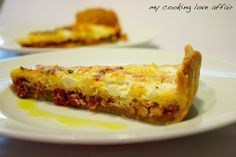 Ziegenkäse-Tarte mit getrockneten Tomaten nach Jamie Oliver