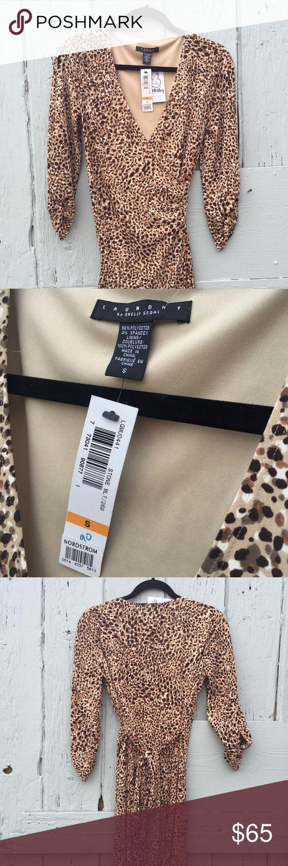 Laundry by Shelli Segal Leopard Print Wrap Dress Laundry by Shelli Segal Leopard Print Wrap Dress. Laundry by Shelli Segal Dresses