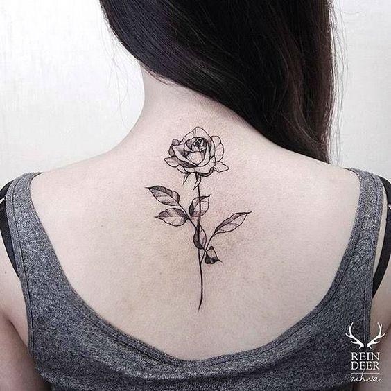 25 Black Rose Tattoo Ideas Neck Tattoo Best Neck Tattoos Rose Tattoo On Back