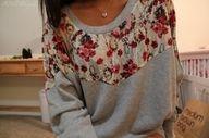 Cute sweatshirt.