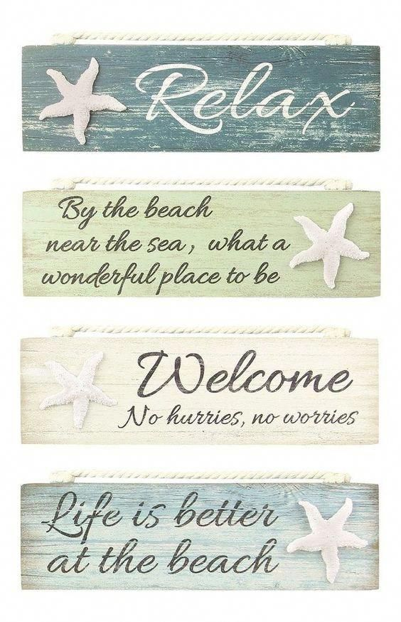 Beach Cottage Sign Ideas Shop Beach Signs Or Diy Project If You Are Handy Beachsigns Beach Signs Beach Signs Wooden Beach Diy