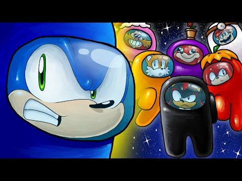 Sonic Meets Among Us Youtube Sonic Articuno Pokemon How To Train Your Dragon