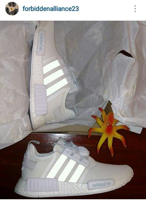 kdxiez Adidas Originals NMD RI Runners All White size 10 $210 contact