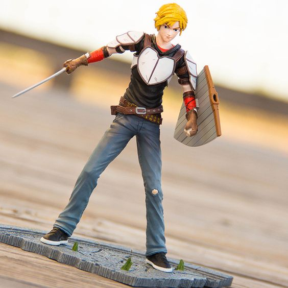 """Figure is 6"""" high. First of four Series 2figures created by McFarlane Toys. (Nora, Pyrrha and Ren to follow!) NOTE: Currently available in US and AUS stores."""