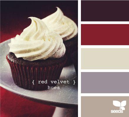 red velvet hues