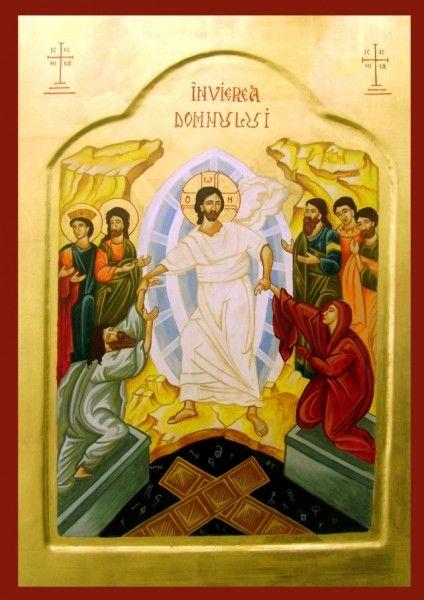 Invierea domnului. Tablou de Pop Florin Marian