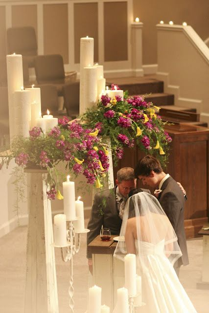 Our wedding ceremony blog! Includes details, vows, and music.