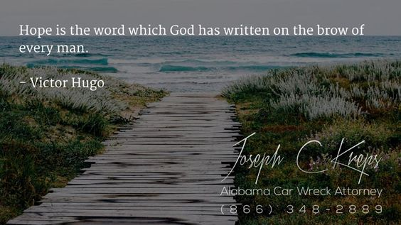 #Citronelle #Alabama #Car #Wreck #Lawyer - Call Kreps today with help on your Citronelle Car Wreck Case.  Hope is the word which God has written on the brow of every man. - Victor Hugo  http://buff.ly/2dYNQIz #KLF