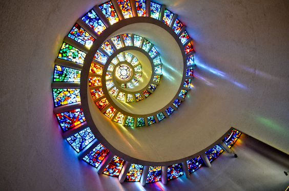 The Glory Window, Thanks-Giving Square Park, Chapel and Museum, Dallas, Texas