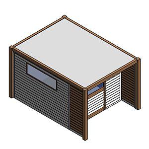 Scanic casette in alluminio e legno casette per attrezzi da giardino a Padova, Treviso, Vicenza e Venezia