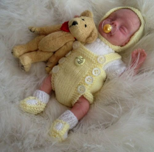 Polymer Clay ooak baby ADORABLE! <3
