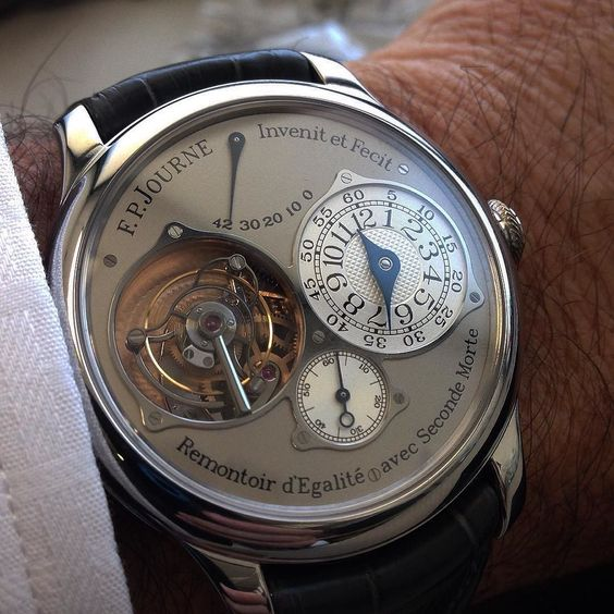 #fpjourne #tourbillon #platinum 38mm by journalier79
