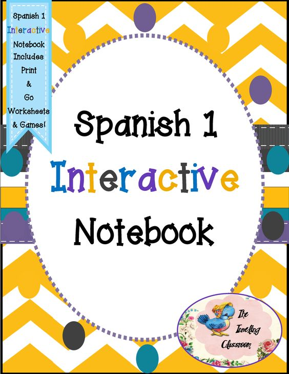spanish 1 interactive notebooks. Black Bedroom Furniture Sets. Home Design Ideas