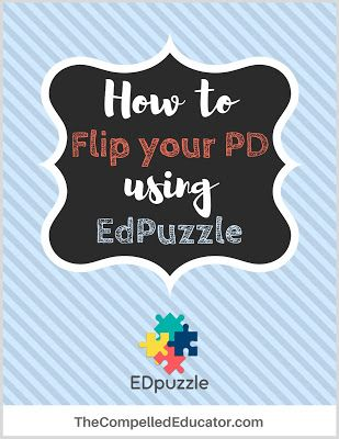 The Compelled Educator: An easy and awesome tool to flip your PD