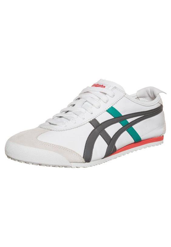 Der Kult-Schuh mit Wohlfühlfaktor! Onitsuka Tiger MEXICO 66 - Sneaker - WHITE/GREY für 89,95 € (05.04.16) versandkostenfrei bei Zalando bestellen.