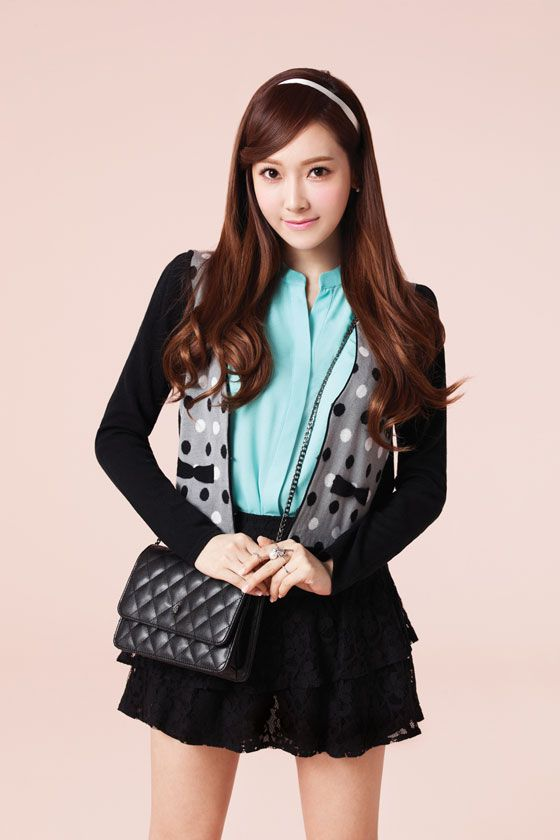 SNSD Jessica is a chic student for SOUP 2014