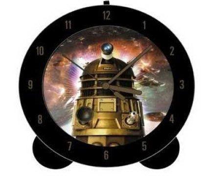 Reloj despertador Doctor Who. Dalek, redondo